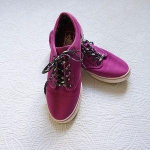 NWOT Vans Off The Wall Purple Era Sneakers